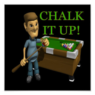 Chalk It Up Poster