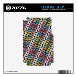 Chalk It Up! Rainbow of Mini Pencils– Chalkboard Skin For iPod Touch 4G