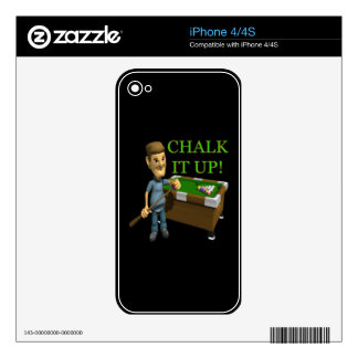 Chalk It Up iPhone 4S Decals