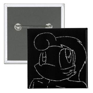 Chalk Kuzoura Pinback Button