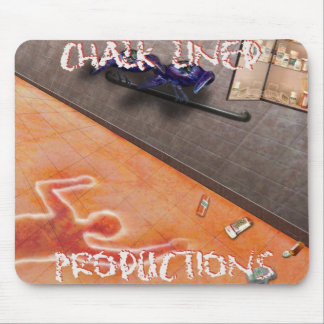 Chalk Lined Productions Mousepad