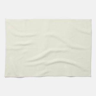 Chalk Neutral Beige Cream Solid Color Background Towel