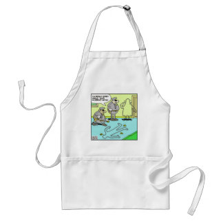 Chalk Outline Funny Police Gifts & Collectibles Adult Apron
