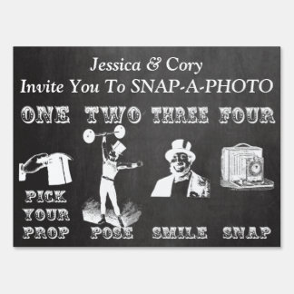Chalk Photo Booth Prop Sign