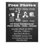 Chalk Photo Booth Prop Sign Flyer