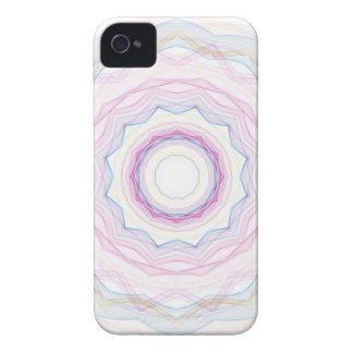 Chalk Rainbow Wave iPhone 4 Case