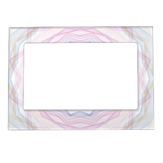 chalk rainbow wave kaleido magnetic picture frame
