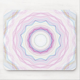 Chalk Rainbow Wave Mouse Pad