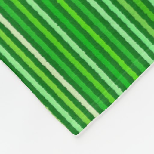 Chalk stripes emerald and lime green fleece blanket zazzle - Emerald green throw blanket ...