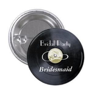 Chalk vinyl bridal party PERSONALIZE Pin