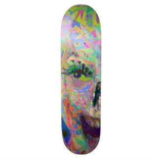 Chalk Zombie Skateboard