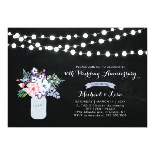 30th anniversary wedding invitations zazzle chalkboard 30th wedding anniversary invitation stopboris Image collections