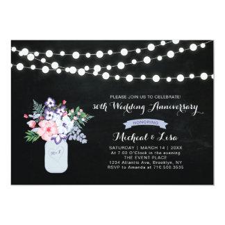 Chalkboard 30th Wedding Anniversary Invitation