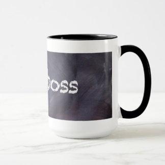 Chalkboard and Chalk Boss Coffee Mug