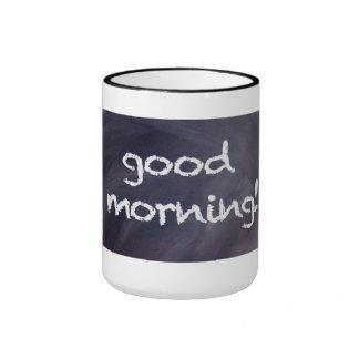 Chalkboard and Chalk: Good Morning Mug