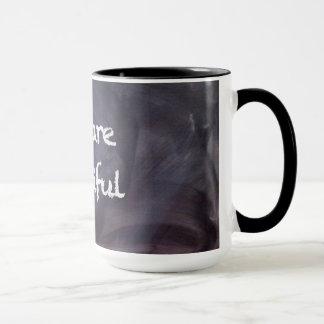 Chalkboard and Chalk Quote: You Are Beautiful Mug