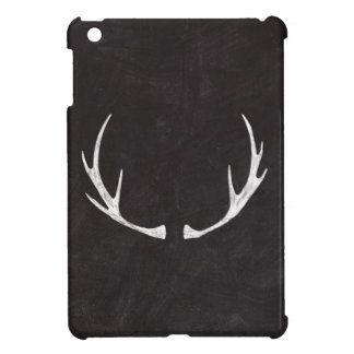 Chalkboard Art - Antlers for the Holidays iPad Mini Case