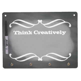 Chalkboard  Art Style Dry Erase Board