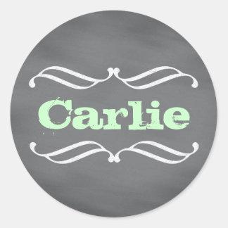 Chalkboard  Art Style Sticker