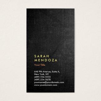 Chalkboard Backgorund Vertical Modern Professional Business Card