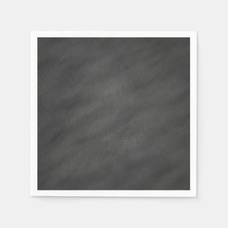 Chalkboard Background Gray Black Chalk Board Blank Napkin