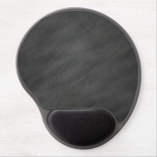 Chalkboard Background Gray Black Chalk Board Gel Mouse Pad