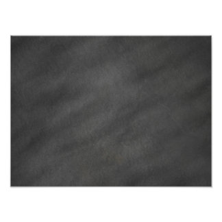 Chalkboard Background Gray Black Chalk Board Photo Print
