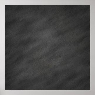 Chalkboard Background Gray Black Chalk Board Poster