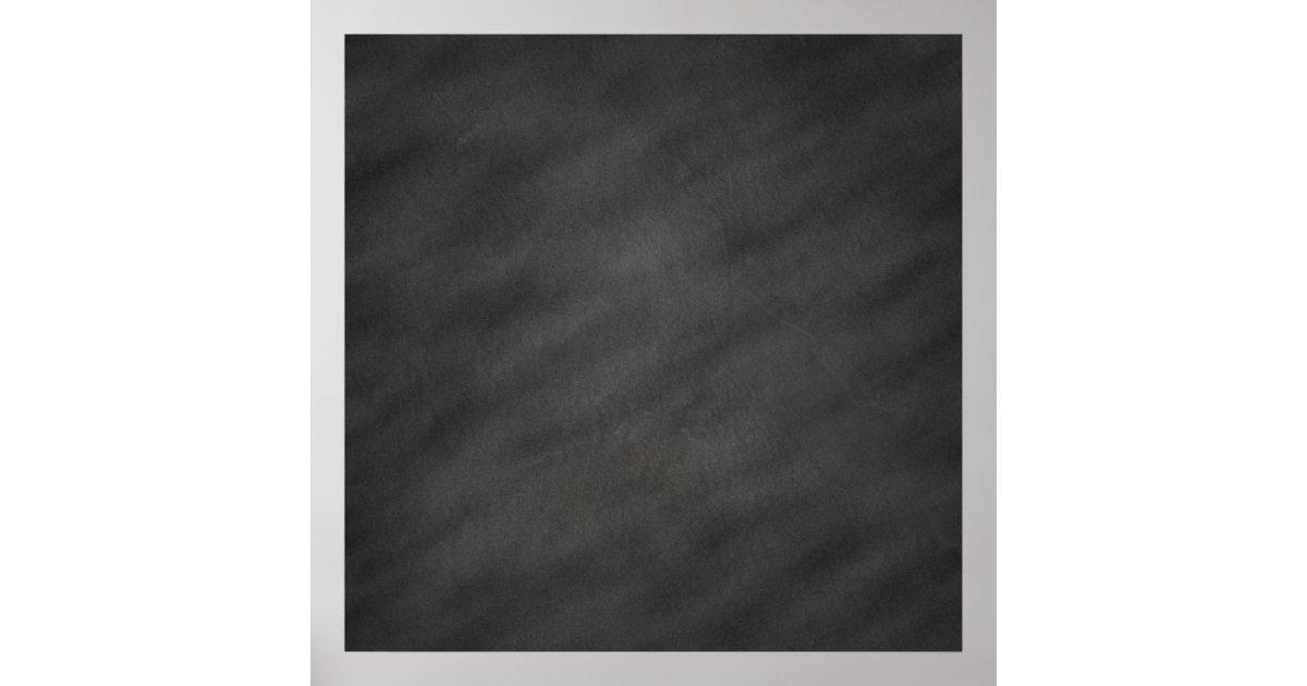 chalkboard background gray black chalk board poster zazzle