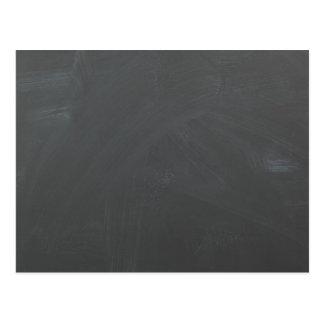 Chalkboard background postcard- Customize Postcard