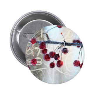 Chalkboard Berries Button