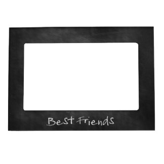 Chalkboard Best Friends Keepsake Magnetic Photo Frame