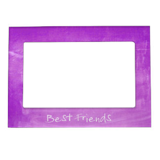 Chalkboard Best Friends Keepsake Magnetic Picture Frame