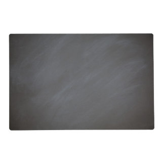 Chalkboard Blackboard Background Gray Retro Style Placemat