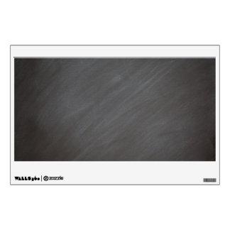 Chalkboard Blackboard Background Retro Style Black Wall Decal