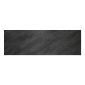 Chalkboard Blackboard Background Retro Style Mini Business Card