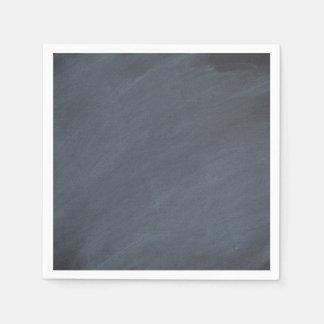 Chalkboard Blackboard Background Retro Style Paper Napkin