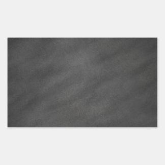 Chalkboard Blackboard Background Retro Style Rectangular Sticker