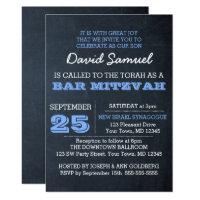 Bar & Bat Mitzvah Invitations<