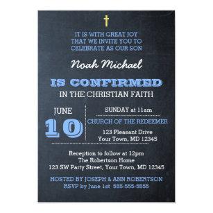 confirmation invitations zazzle