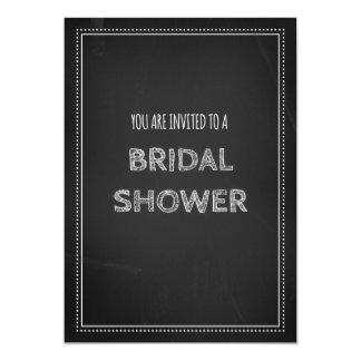 Chalkboard Bridal Shower Invitation Cards
