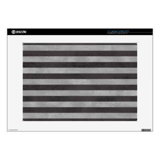 Chalkboard, Chalk Horizontal Stripes Skin For Laptop