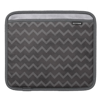 Chalkboard Chevron Stripes Sleeves For iPads