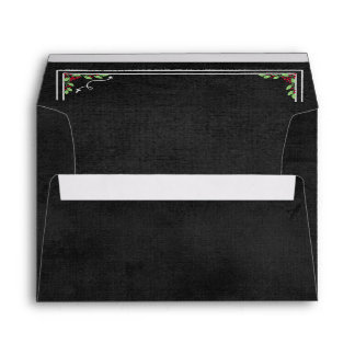 Chalkboard Christmas Collection Envelope