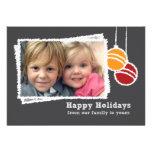 Chalkboard Christmas Photo Holiday Invitation