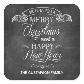 Chalkboard Christmas Wish