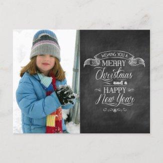 Chalkboard Christmas Wishes
