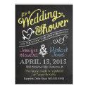 Chalkboard Couples Wedding Shower Invitation (<em>$1.90</em>)