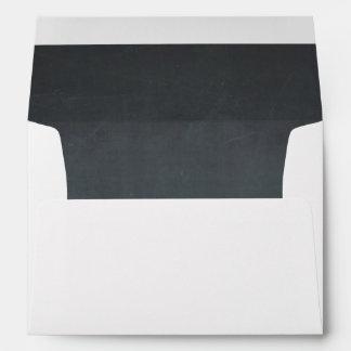Chalkboard Custom Envelope