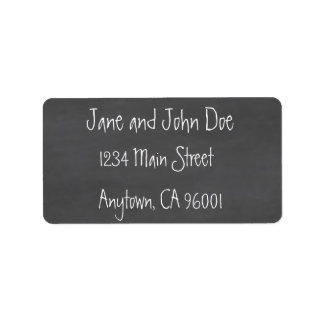 Chalkboard CustomizeABLEs Custom Address Labels